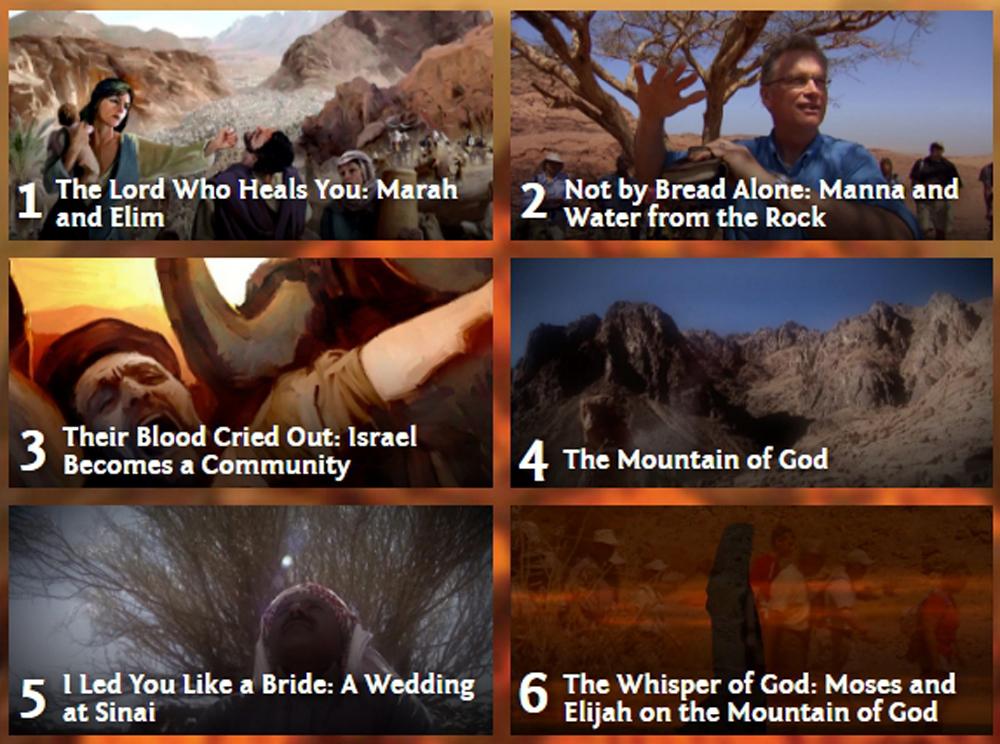 讓全世界都知道 第九集:西乃山上的火