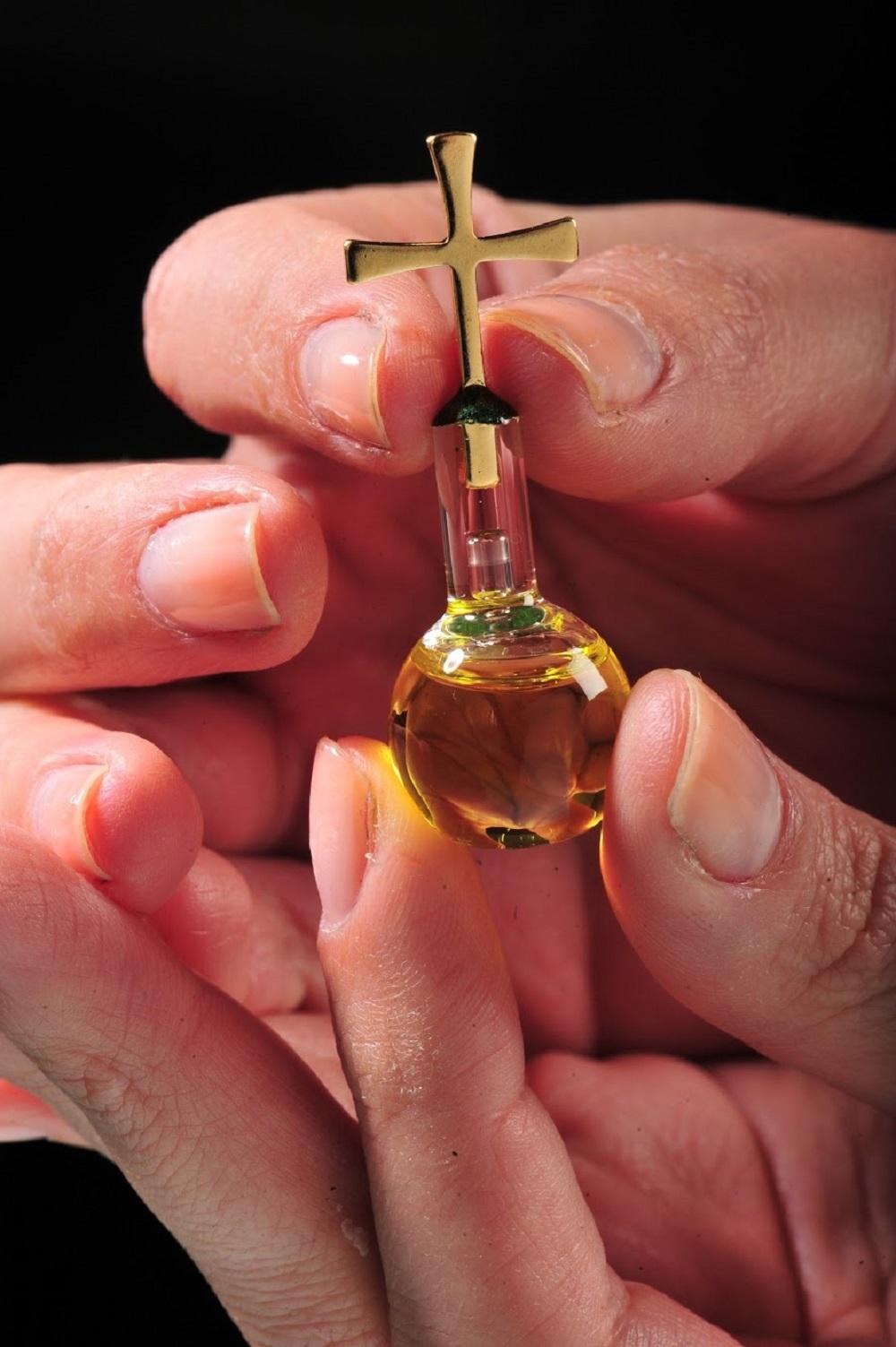 項鍊圓瓶(加利利橄欖油)