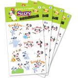 Suzy羊貼紙(四款)